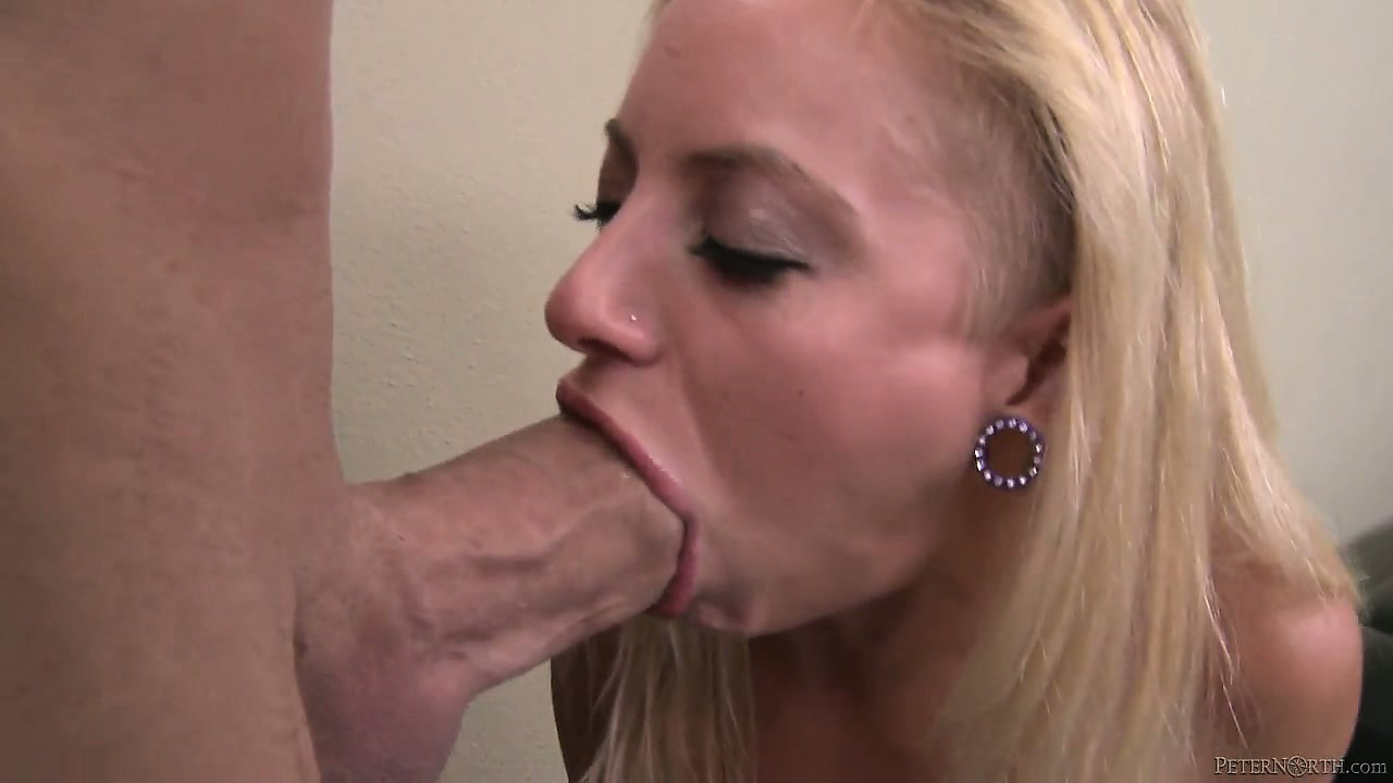 Girl choking on cock cum