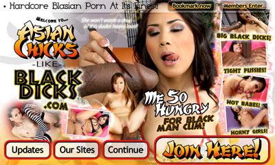 Asian Chicks Like Black Dicks